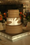 custom designed wedding cake